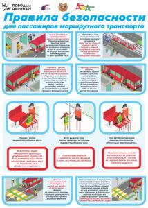 Правила безопасности для пассажиров маршрутного транспорта